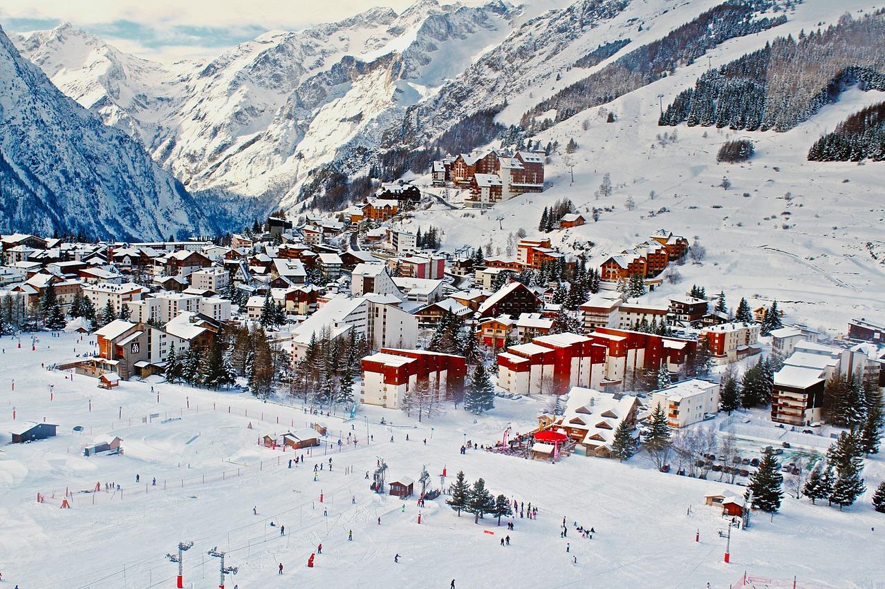 tignes - station de ski