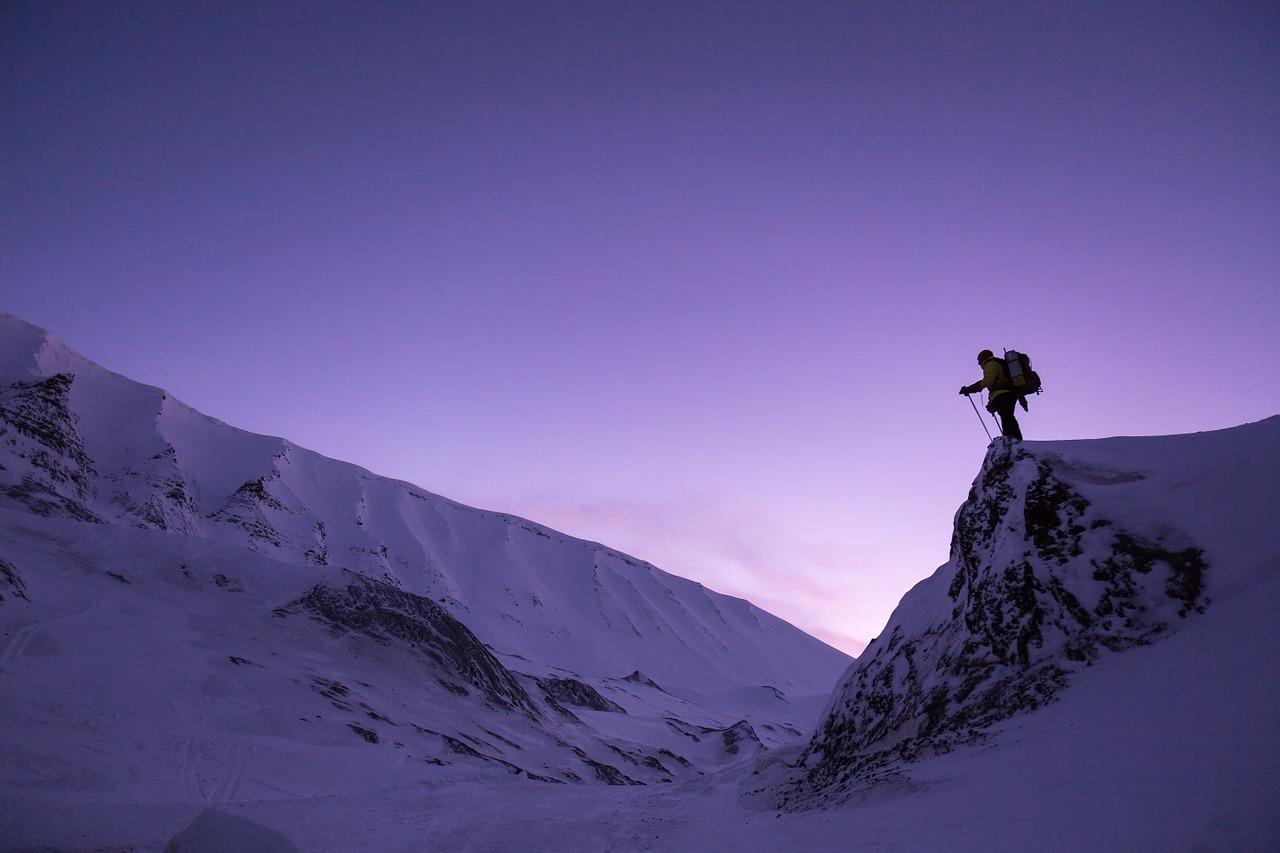 randonnée dans la neige - randonner dans la neige